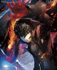Persona 5 isn't just a fantastic video game, it's an absolute feast for the senses, with a strong, confident art style that runs from its character design all the way through to its menus. Persona Five, Persona 5 Anime, Persona 5 Joker, Persona 5 Tumblr, Ren Amamiya, Shin Megami Tensei Persona, Akira Kurusu, Game Art, Memes