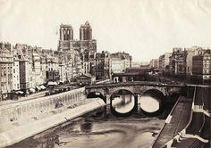 Superbe photo de Paris en 1850 Photo anonyme