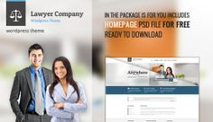 We're giving away file of Lawyer for free. Package includes layered PSD file of Homepage. Web Project, Free Graphics, Lawyer, Wordpress Theme, Website, Image