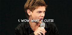 The Three Stages of Fangirling: Thomas Sangster (Part 1)
