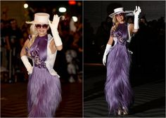 Lady Gaga Wig Dress Surprises The Onlookers