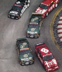 Alfa gegen Mercedes in der DTM am Norisring 1993