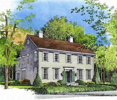 - 43033PF | 2nd Floor Master Suite, Butler Walk-in Pantry, Colonial, Corner Lot, Den-Office-Library-Study, MBR Sitting Area, Narrow Lot, PDF, Traditional | Architectural Designs