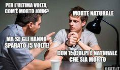 Per l'ultima volta True Memes, Crazy Funny Memes, Funny Pins, Wtf Funny, Funny Jokes, Hilarious, Italian Memes, Sarcasm Humor, Just Smile