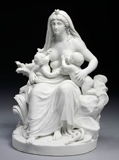 La Nature Louis Simon Boizot, 1794 Porcelaine de biscuit dure Musée Victoria et Albert, Londres, Royaume-Uni