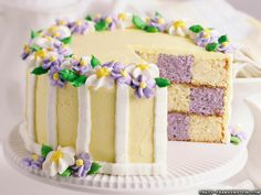 Spring & Easter Cake -Rose Tea Cottage: April 2010 *** for my new checkerboard cake pans! Food Cakes, Cupcake Cakes, Beautiful Wedding Cakes, Beautiful Cakes, Amazing Cakes, Checkerboard Cake, Cake Wallpaper, Wallpaper Backgrounds, Spring Cake