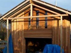 cladding design front Cladding Design, Timber Cladding, Shed, New Homes, Outdoor Structures, Wood Cladding, Wood Siding, Wooden Panelling, Barns