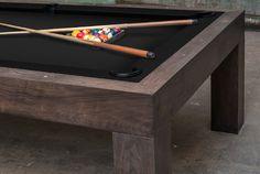 Black Walnut Parsons Pool Table