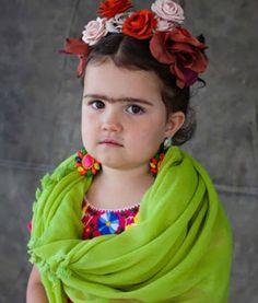 Kids dressed as Frida Kahlo: Costume ideas