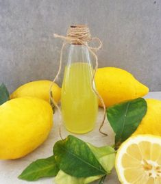 Limoncello - włoski likier cytrynowy Limoncello, Dessert Drinks, Pear, Fruit, Food, Grande, Essen, Meals, Yemek