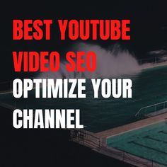 Hello YouTuber, 🎬🎬🎬🎬 Are you looking for someone who can do best youtube video seo and optimize your channel?😔😔. 😎😎 🏆🏆 I am here, who can do best youtube video seo and optimize your channel. 😑 🏀🏀🏀 🏐🏐🏐 Visit my service here : 🚩fiverr.com/share/L35QVa 💟 #youtube #youtubechannel #youtubers #seo #videomarketing #seovideo #youtubevideo #youtubecommunity #youtuber好きな人と繋がりたい #youtubebrasil #youtubeblackfanfest #youtubeseotools #youtubeseotips #youtubeseo2019 #youtubeseoexpert Online Marketing, Digital Marketing, Looking For Someone, Youtubers, Seo, Channel, Community, Movie Posters, Film Poster