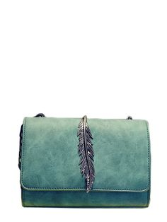 78494658d3f Crossbody bags with chain strap. Perfect choice for Casual wear. Designed  in Green.