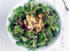 Itämaisittain marinoidut herkkusienet - Champignons marinated with Asian flavours
