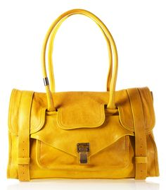 a54ca367e5 PROENZA SCHOULER SHOULDER BAG Yellow Handbag
