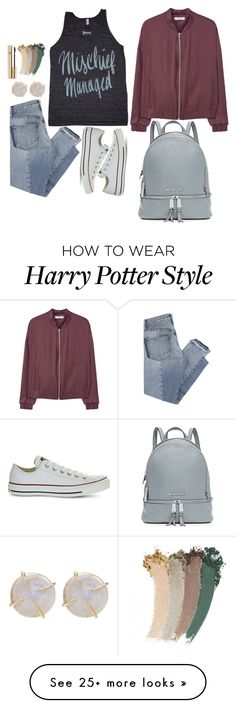 """now"" by cjs-volleyballgirl on Polyvore featuring Mix Nouveau, Converse, MANGO, MICHAEL Michael Kors, Melissa Joy Manning, Gucci and Dolce&Gabbana"