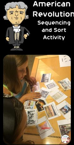 Review the events leading to the American Revolution in this sequencing and sort activity.