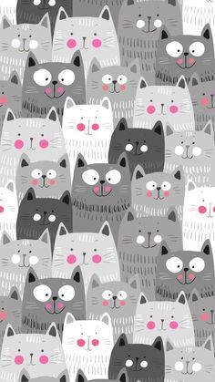 Iphone Wallpaper  F0 9f 92 99 Hd Wallpaper Girly Iphone Wallpaper Cat Geometric Wallpaper Iphone Cute