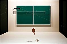 Waltercio Caldas - Ping-ping, a construção do abismo no piscar dos cegos (1980)