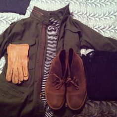 #Clarks #Desertboots #ootd Instagram photo by @snipad