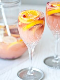 Make your next brunch extra special with a bubbly citrus sangria.