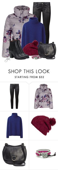 """""""Frye shoes and bag"""" by dgia ❤ liked on Polyvore featuring Paige Denim, Joules, Uniqlo, Volcom and Frye"""