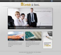 Maqueta de Sitio Web para Contab y Rent