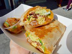 The 20 Essential Breakfast Burritos in Los Angeles I Love Food, Good Food, Yummy Food, Breakfast Burritos, Food Goals, Morning Food, Food Diary, Food Cravings, Food Dishes