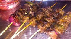 Kenyan Beef Mshikaki with Kachumbari Salsa - Kaari's Kitchen Main Meals, Kenyan Recipes, Salsa, Lunch, Beef, Snacks, Dinner, Drink, Food