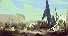 ArtStation - Weekly Sketches Week 6, Hueala Teodor