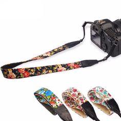 Universal Floral Printed DSLR Camera Shoulder & Neck Straps *Compatibl – EQcreative Plus