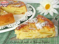 Torta di mele di nonna papera Apple Recipes, Sweet Recipes, Cake Recipes, Dessert Recipes, Italian Desserts, Italian Recipes, Apple Torte, Baking Bad, Torte Cake