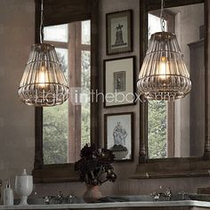 MAISHANG® Chandeliers Mini Style Modern/Contemporary Living Room/Bedroom/Dining Room/Study Room/Office Metal - USD $257.99