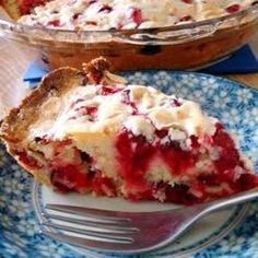 Crustless Cranberry Pie - Allrecipes.com