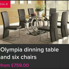 Get your new table in time for christmas from  Www.imnotshopping.co.uk