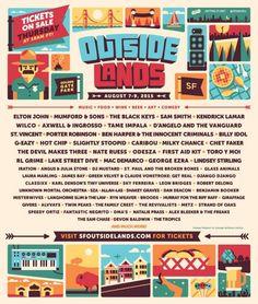 Outside Lands Music Festival Announces 2015 Set Times, Schedule