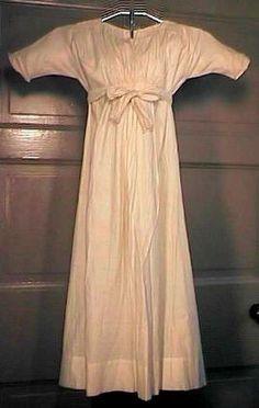 Inspiration for Lu's dress.    Jessamyn's Regency Costume Companion: Children's Clothes