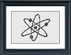 Atom  the Big Bang Theory  PDF CrossStitch Pattern