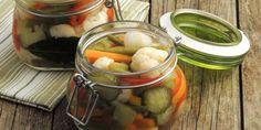 VERDURE IN AGRODOLCE E SOTT'OLIO RICETTE CON IL BIMBY E SENZA.... Slow Food, Pesto, Pickles, Cucumber, Buffet, Pizza, Canning, Vegetables, Desserts