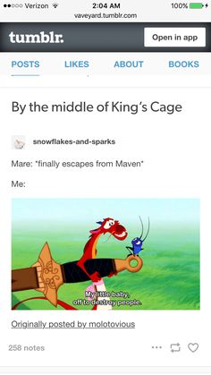 Red Queen-Glass Sword-King's Cage-Mare Barrow-Maven Calore | Me.