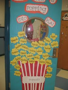 Possible use for door decorating for teacher appreciation week?