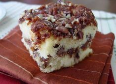 Cinnamon Pecan Coffee Cake from Southern Cakes