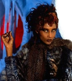 Iman plays the role of Martia, a shapeshifting alien on the prison planet Rura Penthe who leads Kirk and McCoy into a trap. - (Star Trek VI: The Undiscovered Country, Star Trek Characters, Star Trek Movies, Sci Fi Movies, Star Trek Vi, Star Wars, Aliens, Star Trek Generations, Star Trek Original Series, Star Trek Universe