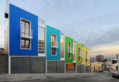 Antonio Menéndez Ferrer and Cristian Barrientos Vera, Rearquitectura | lofts Yungay II