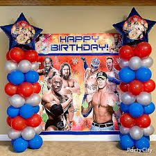 Image result for wwe party ideas