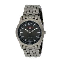 U.S. Polo Assn. Men's US8444EXL Black Dial Extra Long Gun Metal Bracelet Watch U.S. Polo Assn.. $21.99. Durable mineral crystal. Fold-over-clasp. Quality Japanese-Quartz movement. Arabic numeral display. Polish gun metal extra-long band