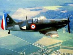 French fighter Dewoitine D.520. This was the best fighter of the Air Force and a plane of equal value to the German Bf 109. Unfortunately it was available in too small numbers in May 1940 to have a real impact on operations.