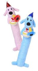 Birthday Loofah Dog Toys