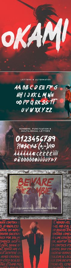 Okami - Brush Font - Sans-Serif Fonts