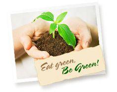 Eat Green, Be Green!