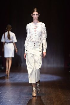 #Gucci Milano Fashion Week primavera/estate 2015 | #MFW14 #SS15 #fashionshow #newcollection